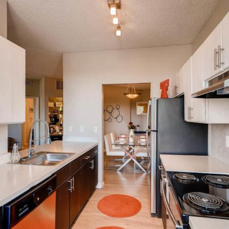 Spacious Kitchen | Apartments in Denver CO | Alta Springs Apartments