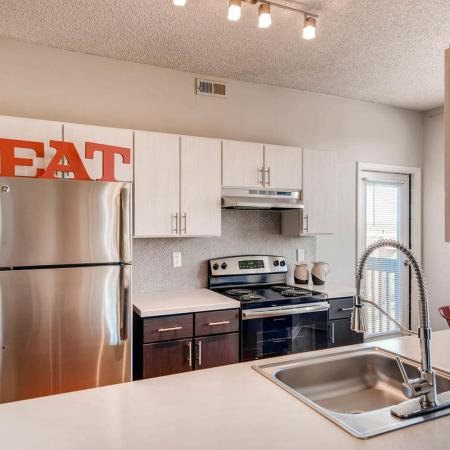 Modern Kitchen | Apartments in Denver CO | Alta Springs Apartments