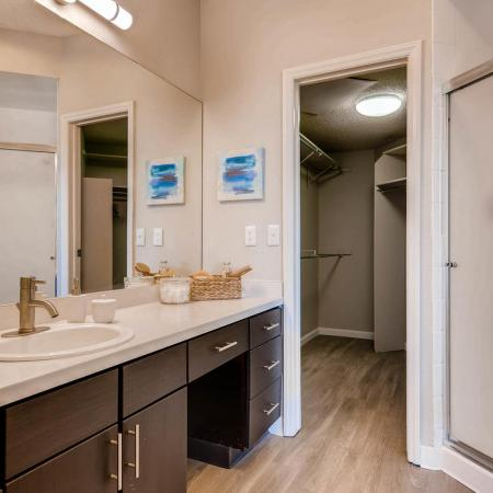 Modern Master Bathroom | Apartments in Denver CO | Alta Springs Apartments