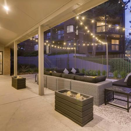 Community Patio | Apartments in Denver CO | Alta Springs Apartments