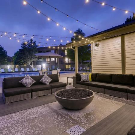 Community Fire Pit | Apartments in Denver CO | Alta Springs Apartments
