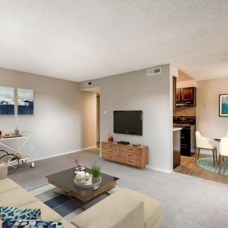 Luxurious Living Room | Apartments In Herriman Utah | Copperwood Apartments
