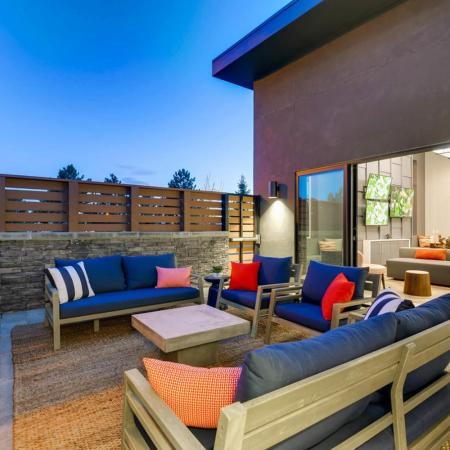 Resident Fire Pit | Copperwood Apartments Herriman | Copperwood Apartments