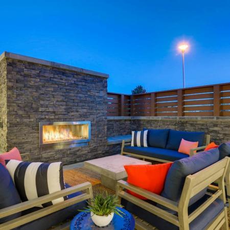 Community Fire Pit | Apartments Herriman Utah | Copperwood Apartments
