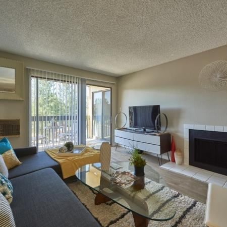 Fireplace | Luxury Apartments in Denver Colorado | Dayton Crossing
