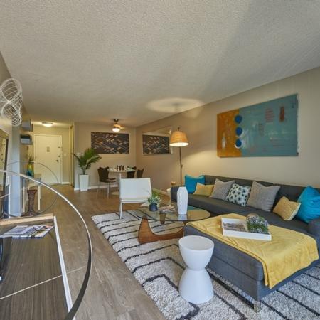 Spacious Living Room | Luxury Apartments in Denver Colorado | Dayton Crossing