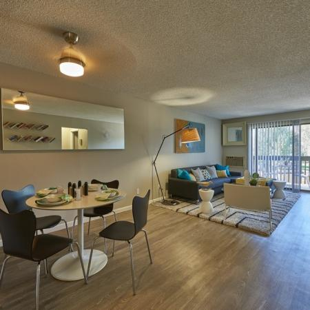 Spacious Dining Room | Luxury Apartments in Denver Colorado | Dayton Crossing