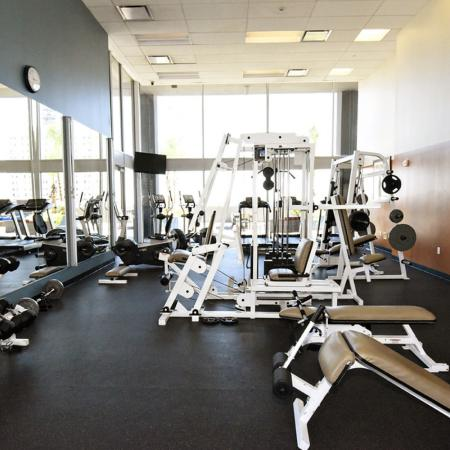 State-of-the-Art Fitness Center | Houston Texas Rentals | Houston House