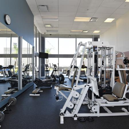 Cutting Edge Fitness Center | Houston Texas Apartments | Houston House