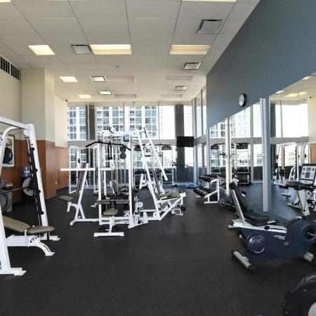 Resident Fitness Center | Pet Friendly Apartments In Houston | Houston House