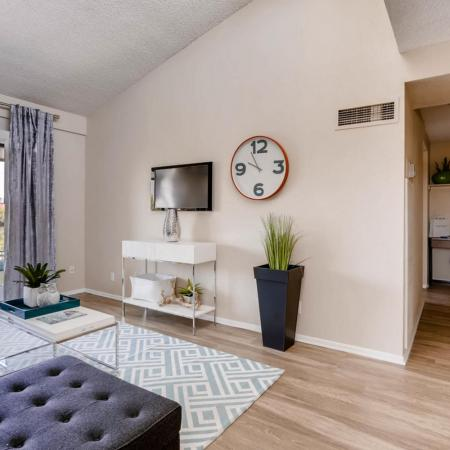 Luxurious Living Room | Lakewood Apartments | Lakeview Towers At Belmar