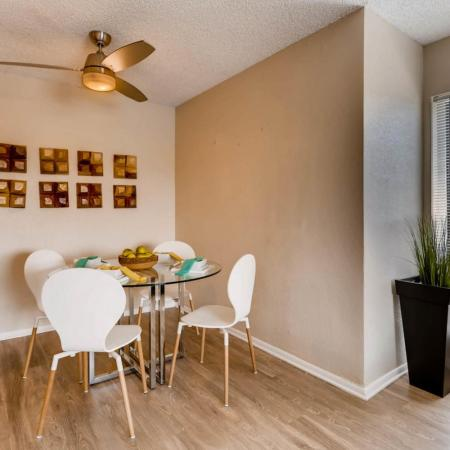 Spacious Dining Room | Lakewood Luxury Apartments | Lakeview Towers At Belmar