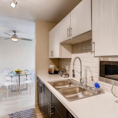 Modern Kitchen | Apartment In Lakewood | Lakeview Towers At Belmar
