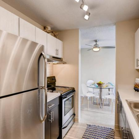 Elegant Kitchen | Lakewood Luxury Apartments | Lakeview Towers At Belmar