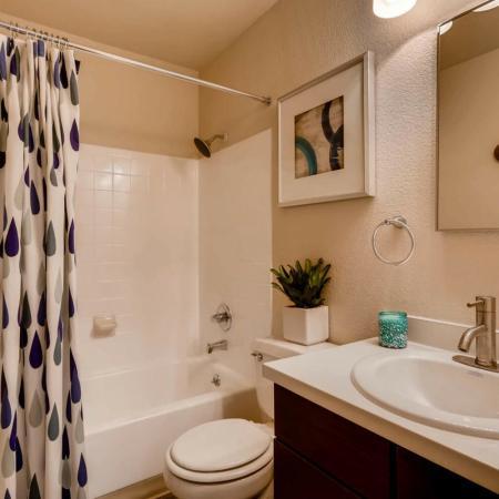 Spacious Bathroom | Apartment In Lakewood | Lakeview Towers At Belmar