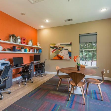 Resident Business Center | San Antonio TX Apartment For Rent | Laurel Canyon Apartments
