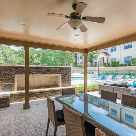 Community Porch Area | San Antonio TX Apartments | Laurel Canyon Apartments