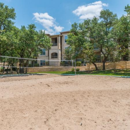 Sand Volleyball Court | San Antonio TX Apartments For Rent | Laurel Canyon Apartments