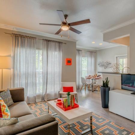 Elegant Living Room | Apartments for rent in San Antonio, TX | Laurel Canyon Apartments