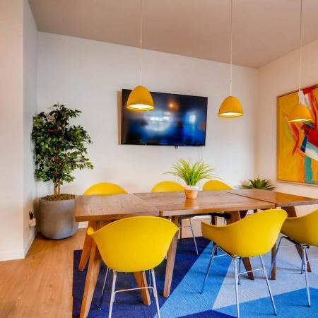 Elegant Community Club House | Phoenix AZ Apartments | Palm Court Apartments
