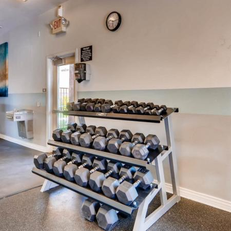 Cutting Edge Fitness Center | Apartments Homes for rent in Phoenix, AZ | Palm Court Apartments