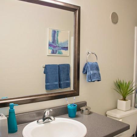 Bathroom at Riverbend