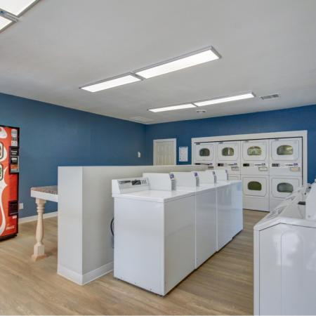 Laundry Center at Riverbend