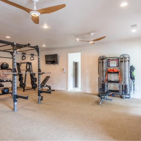 Luxury Fitness Center at San Miguel