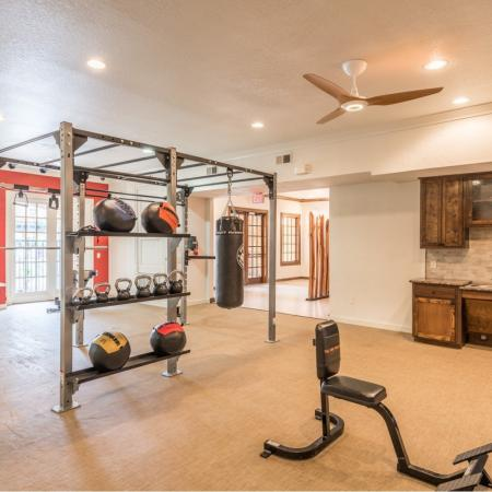 State-of-the-art Fitness Center at San Miguel