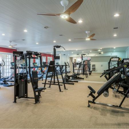 Elegant Fitness Center at San Miguel