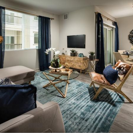 Elegant Living Room | Temecula Apartments | Solaire