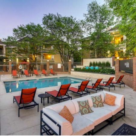 Lounging by the Pool | Westminster CO Apartments For Rent | Village Creek Apartments