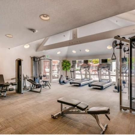 Resident Fitness Center | Apartments Westminster, CO | Village Creek Apartments