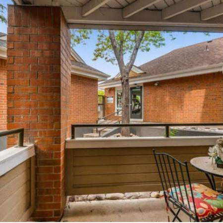 Spacious Apartment Balcony | Westminster CO Apartments For Rent | Village Creek Apartments