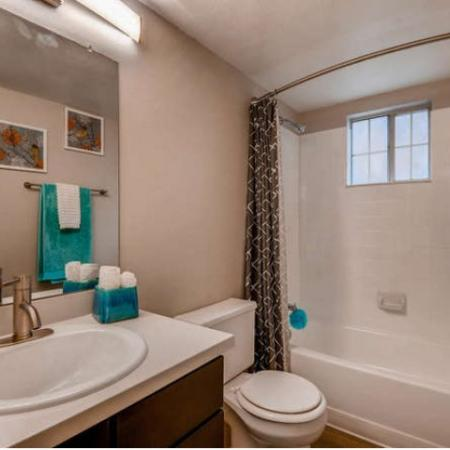 Spacious Bathroom | Westminster CO Apartment For Rent | Village Creek Apartments
