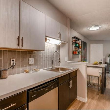 Modern Kitchen | Westminster CO Apartment For Rent | Village Creek Apartments