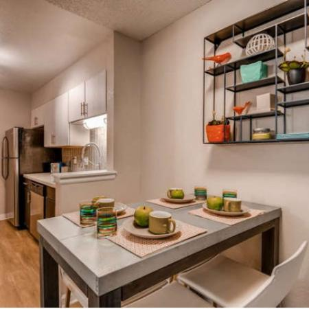 Elegant Dining Room | Westminster CO Apartments For Rent | Village Creek Apartments
