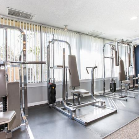 Cutting Edge Fitness Center | Apartments Homes for rent in Denver, CO | Woodstream Village Apartments