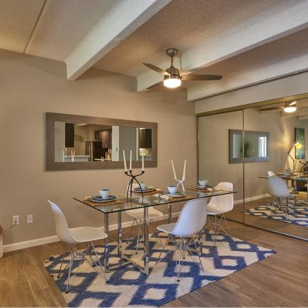Elegant Dining Room | Denver CO Apartments For Rent | Woodstream Village Apartments