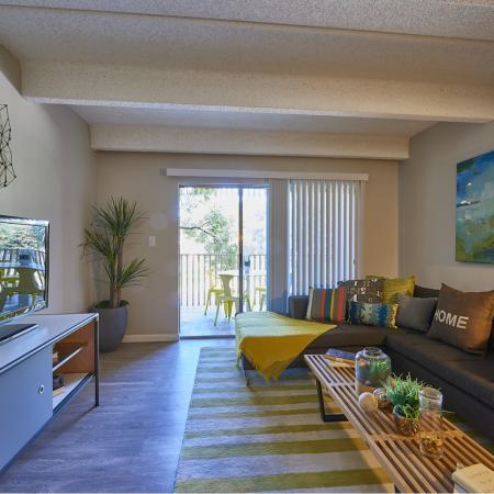 Spacious Living Room | Apartments in Denver, CO | Woodstream Village Apartments