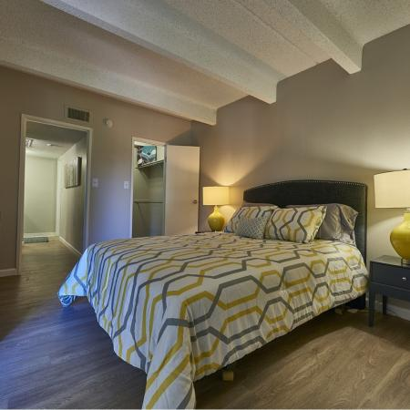 Spacious Bedroom | Denver CO Apartment Homes | Woodstream Village Apartments