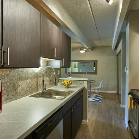 Elegant Kitchen | Apartments in Denver, CO | Woodstream Village Apartments