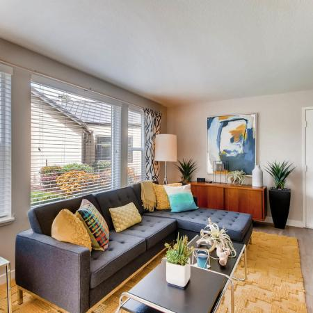 Elegant Living Room | Apartments for rent in Tualatin, OR | Rivercrest Meadows Apartments