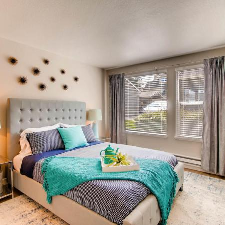 Spacious Bedroom | Tualatin OR Apartment Homes | Rivercrest Meadows Apartments