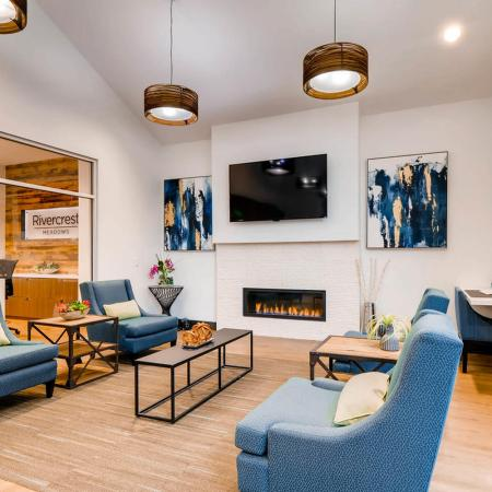 Elegant Community Club House | Tualatin OR Apartments | Rivercrest Meadows Apartments