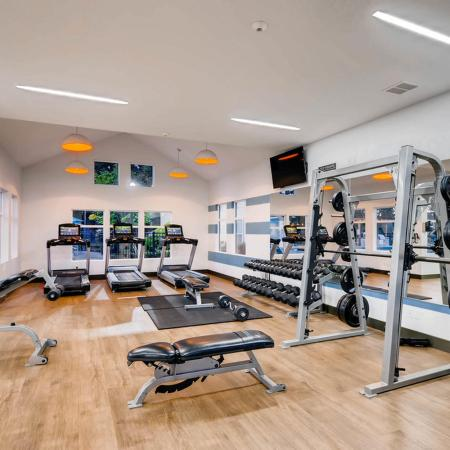 State-of-the-Art Fitness Center | Apartment Homes in Tualatin, OR | Rivercrest Meadows Apartments