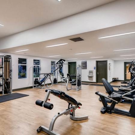 Resident Fitness Center | Apartments Tualatin, OR | Rivercrest Meadows Apartments