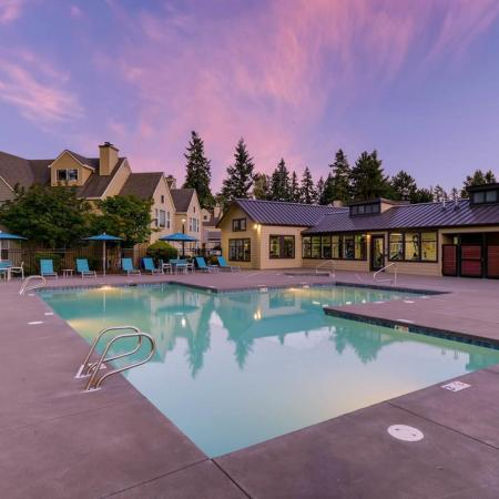 Sparkling Pool | Apartments for rent in Tualatin, OR | Rivercrest Meadows Apartments
