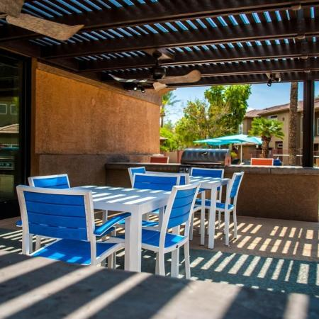 Community BBQ Grills | Ahwatukee Apartments | Verano Townhomes