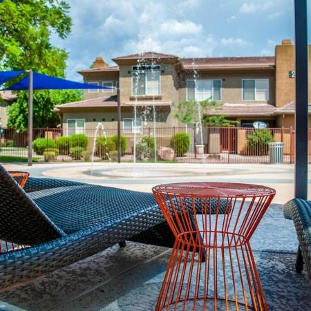 Resident Sun Deck | Ahwatukee Apartments | Verano Townhomes